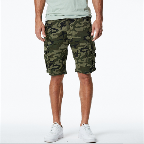 New summer cotton camo trousers casual men's breeches