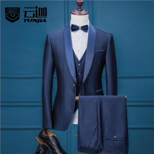 Men's suit professional casual Korean formal suit groom suit