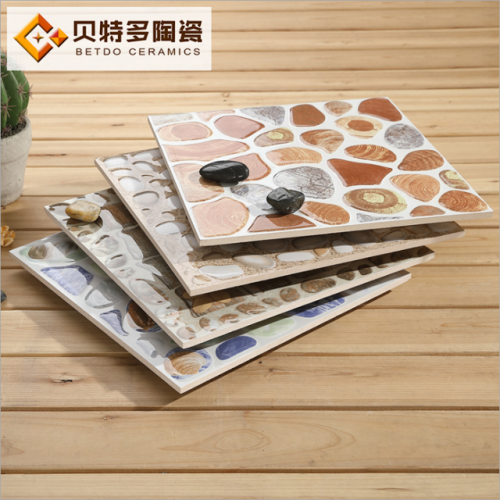 Pebble tile 300300 three-dimensional concave and convex non-skid tile kitchen bathroom balcony courtyard non-skid tile