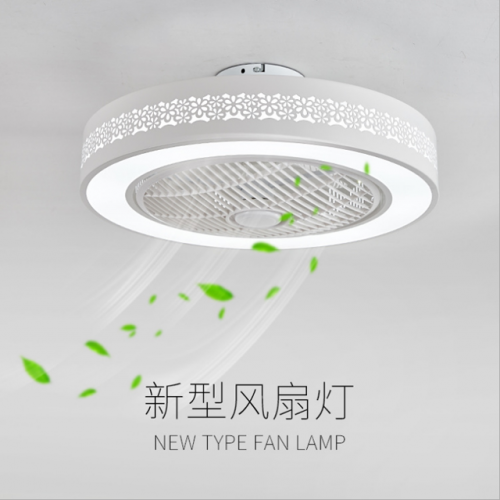 Children's room fan lamp multi-grade dimming bedroom ceiling lamp wholesale simple living room remote control lamp