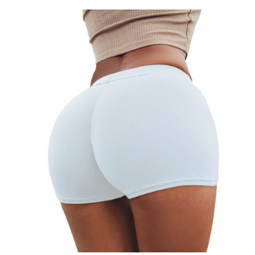 Sexy women cotton stretch Sport Bottoming Shorts