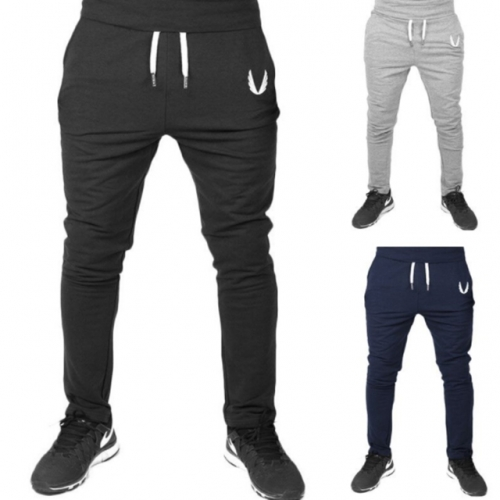 Men's sports trousers slim printed leggings