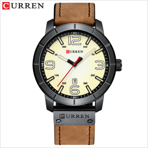 CURREN/ Carrian 8327 waterproof trendy men's belt watch
