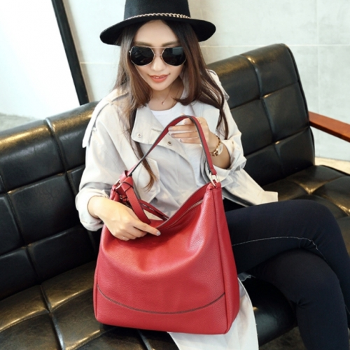 Leather bags women shoulder bag handbag ladies fashion