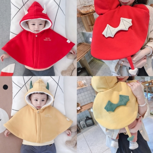 Autumn and winter baby cloak out windshield jacket
