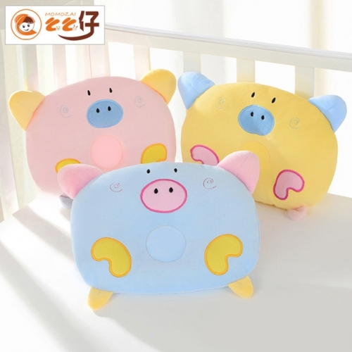 Baby cartoon child anti-deviation head stereotype pillow
