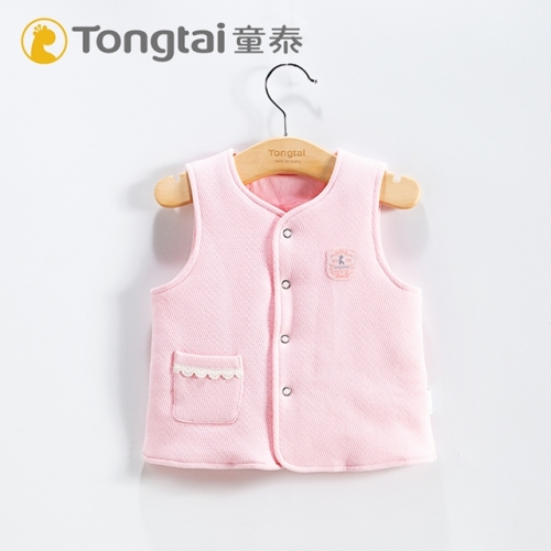 Baby autumn and winter thickened vest pure cotton vest