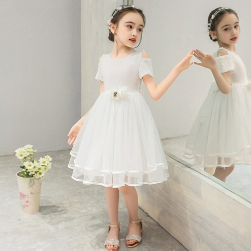 Girls' summer chiffon dress