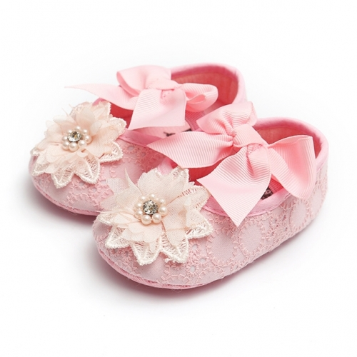 Spring baby shoes, baby girls, soft soles.