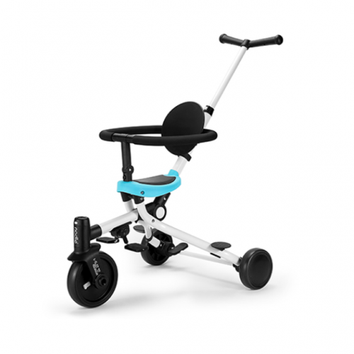 Collapsible child tricycle