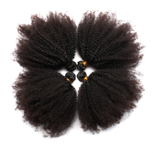 8A Brazilian Afro Curly Virgin Hair 100%human hair