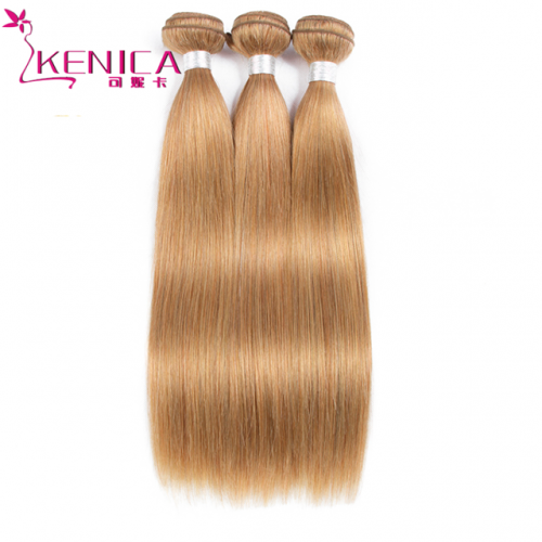 9A 27# straight Brazilian virgin hair weft human hair weave
