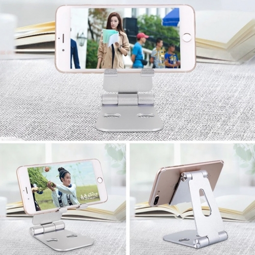 Home office desktop adjustable mobile phone bracket