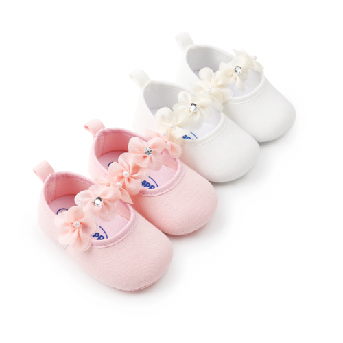 Soft-soled baby walking shoes