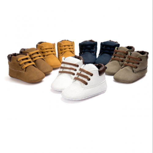 Baby soft-soled anti-skid walking shoes