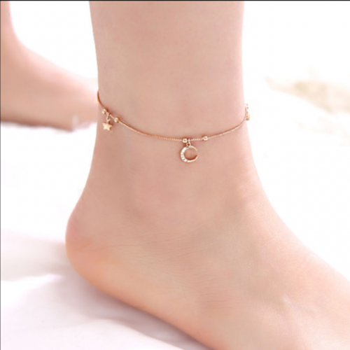 Women's simple Sen foot chain