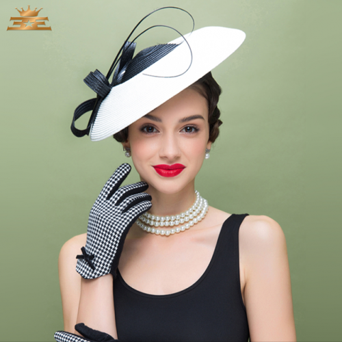 EE Fashion Women's Hat Fashion Spring and Autumn Leisure all kinds of Winter vintage European and American Top Hat Horse Race Celebrity Ladies' Hat