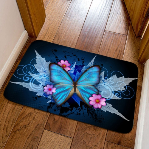 Butterfly door mats, door mats, dustproof floor mats, bedside mats in children's rooms.