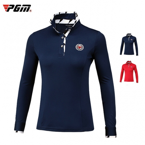 Women's golf clothes thick long-sleeved T-shirt
