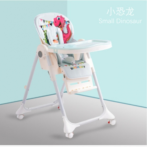 Multi-functional baby dining chair foldable portable baby dining seat children dining table chair household