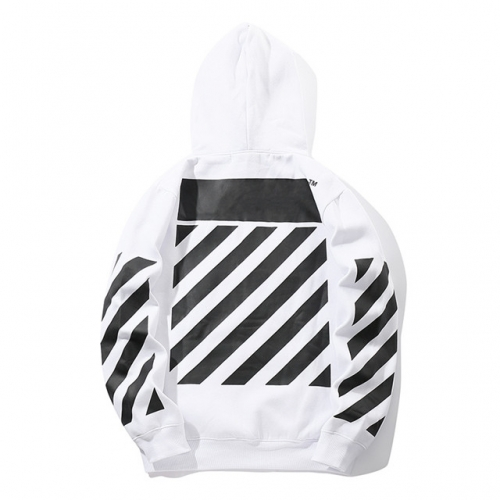 Angel striped sweaters for men and women hoodie jackets OW cotton