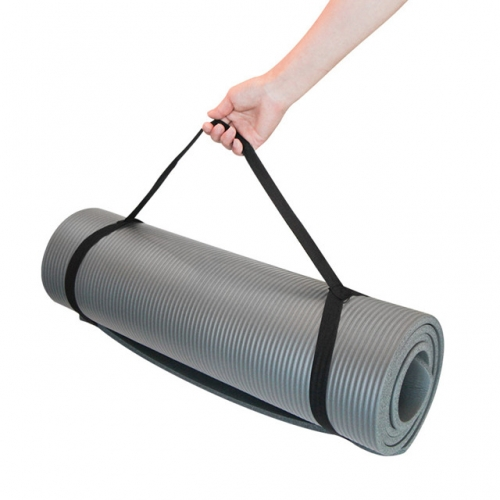 NBR Yoga Mat Indoor Multi-functional Fitness Yoga Mat rest Mat Grey Yoga Mat