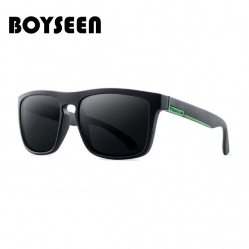 Polarized sunglasses cycling sports sunglasses anti-UV driving glasses European and American men's glasses polarized UV400