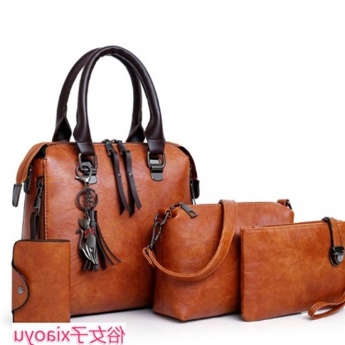 Four-piece women's bag fashion work bag woman Handbag lady