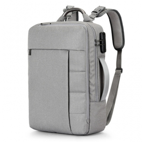 Backpack in backpack for college students, Oxford cloth, men's backpack, multi-function bag.
