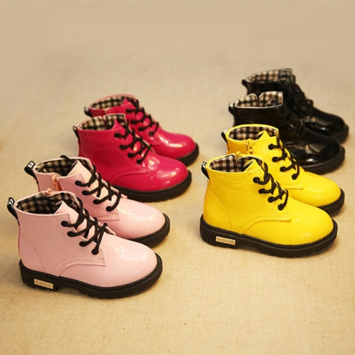 Children's shoes 1 little girl 3 Martin boots 4 autumn and winter style 5 girls 6 single boots 7 leather boots 8 boy short boots 9 years old