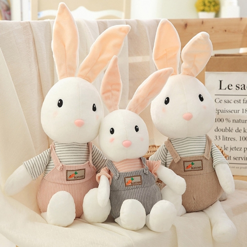 Plush toy rabbit puppet doll little white rabbit pillow doll cute big doll child girl birthday present