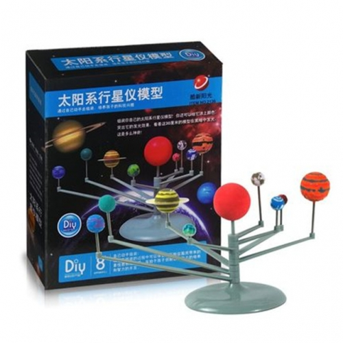 Nine astronomical night light travel models / star space set earth star instrument eight moons in the solar system
