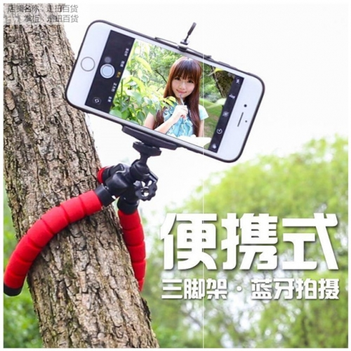 Octopus bracket tripod mini photo Douyin multi-function camera live artifact triangle selfie phone