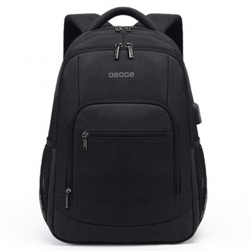 OSOCE notebook computer bag 15.6inch backpack schoolbag male college student fashion travel backpack
