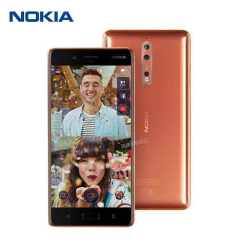 Nokia 8 phone smart Android full screen mobile Unicom 4G phone new style