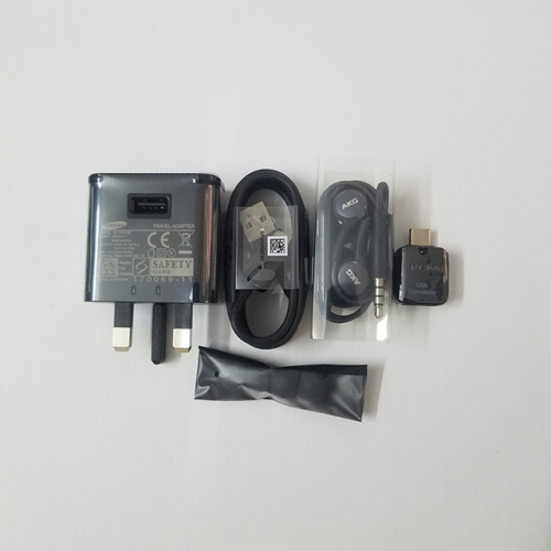 Charger S9 English specification S8 original Hong Kong version of Note8 quick charge head TypeC data cable AKG headset