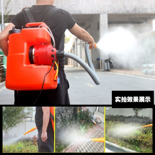 Electric fogging machine high-power agricultural high-pressure sprayer wind-fed farm disinfector ultra-micro atomizer
