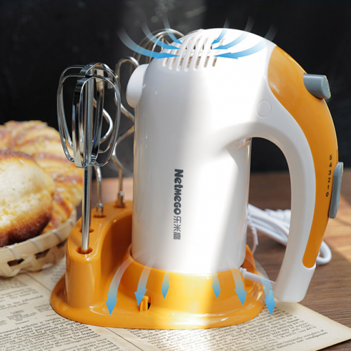 Electric egg beater 300W high-power household baking tools hand-held stirring to dispense small cream machine
