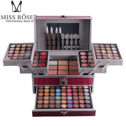 MISS ROSE makeup bag special makeup box eye disc for makeup artist