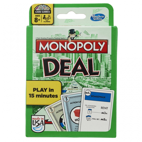 Table fan classic party game card tycoon MONOPOLY English original real estate millionaire card version DEAL